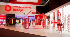 Stand de Vodafone en el Mobile World Congress 2018 / VODAFONE