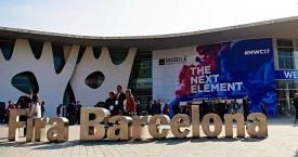 Entrada del Mobile World Congress (MWC) en 2017 / GSMA