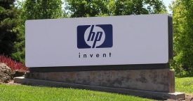Entrada de la sede central de Hewlett-Packard (HP) en Estados Unidos, donde se centrará la mayor parte de los despidos / EUROPA PRESS