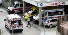 Aparcamiento de Urgencias de un hospital / EUROPA PRESS