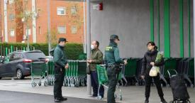 Agentes de la Guardia Civil durante el estado de alarma por el coronavirus / GUARDIA CIVIL