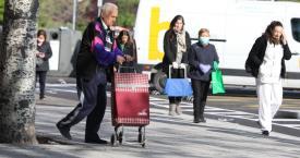 Varios españoles hacen sus compras durante el estado de alarma / EP