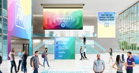 El lobby de un congreso virtual