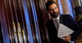 El presidente del Parlament, Roger Torrent (ERC) / EP