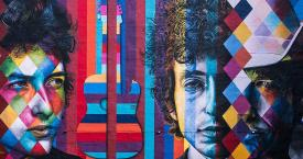 Mural de Bob Dylan en Minneapolis / SHARON MOLLERUS